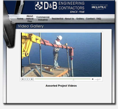 Helical Pile Project Videos